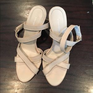 Banana Republic wedge sandals size 7