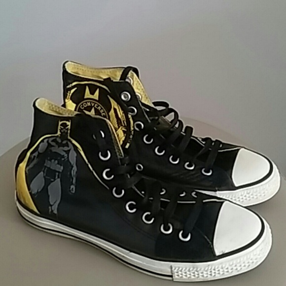 25ac33432488 Converse Shoes - LIMITED EDITION BATMAN CONVERSE HIGH TOPS