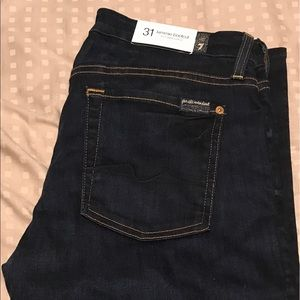 Seven For All Mankind Kimmie Boot Cut Jeans sz 31