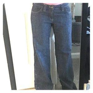 Women's wide leg jeans