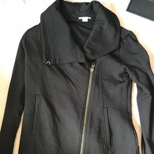 New Helmut Lang Asymmetrical Moto Jacket Small
