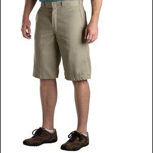 "Dickies Multi-use Pocket 13"" Work Shorts Khaki"