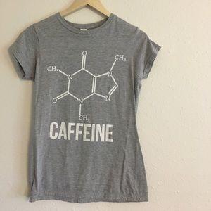 Tops - NWOT CAFFEINE COMPOUND TEE