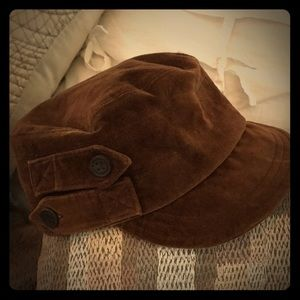Lucky Brand Brown Velvet Hat