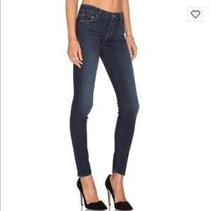 """Mother the looker skinny jeans 24 """"no play"""" wash"""
