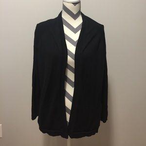 Zara Black Knit Sweater Sz L
