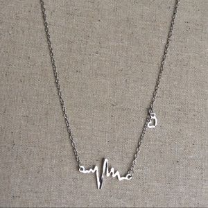 Jewelry - Silver-tone Pulse necklace