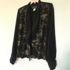 Jackets & Blazers - Boho See Thru Sleeve Vintage Style Jacket