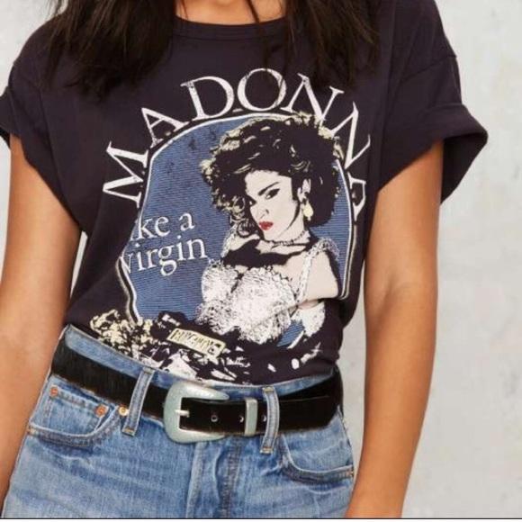 4ea97fd56 Topshop Graphic Tee Madonna. M_5a0cad9c7f0a05386c0158ed
