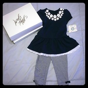 Little Me Girls 12 Months Outfit