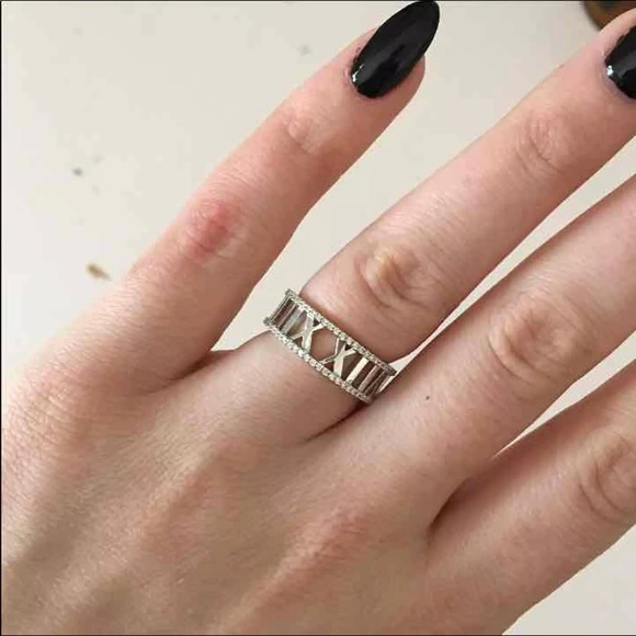 7a85af98381 Tiffany & Co. Jewelry   Tiffany Atlas Ring   Poshmark