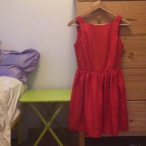 American apparel XS red dress