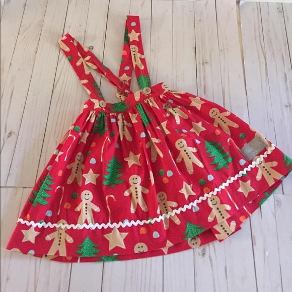 db24516aa007 Eleanor Rose Other - Eleanor Rose Christmas Cookies Suspender Skirt 6