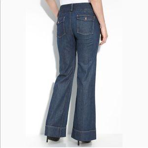 Lucky Brand Manhattan Wide Leg Trouser Jeans