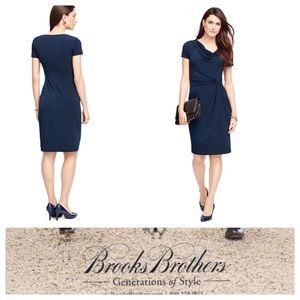 NWOT Brooks Brothers Little Navy Dress.  Size 10