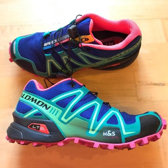 Salomon speedcross 3 women's shoes 6.5 hike runnin