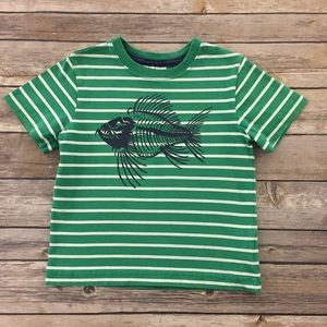 Hanna Andersson Fish Shirt, Size 90