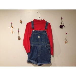 VTG Overall Shorts