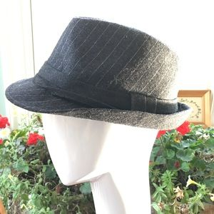NEW 1920s pin stripe fedora gangster hat 57 S/M