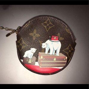 Handbags - Polar bear limited edition round Coin Purse