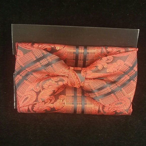 7dd207120c2e DANIEL ELLISSA Accessories | Mens Bow Tie And Hanky Set | Poshmark