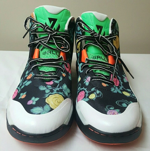 John wall floral city sneakers