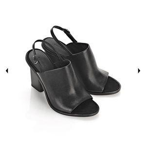Alexander Wang Leather Slingback Sandal - size 37