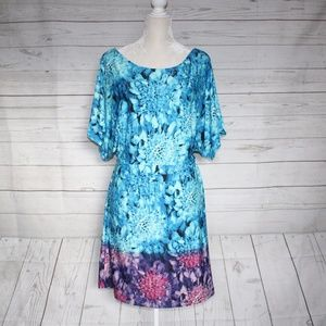 BCBGMaxAzria NWOT Dolman Sleeves Dress Medium