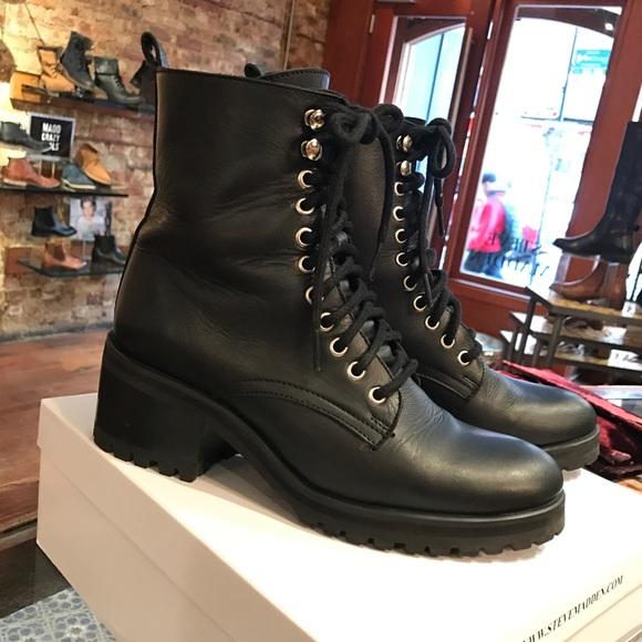 b0522b257f8 Steve Madden GENEVA combat boot. M 5a0cb9e06a5830d09401a7aa