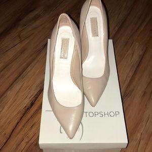 Beige/Nude TopShop Heels