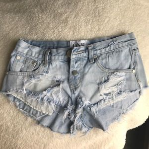 One teaspoon high waist short