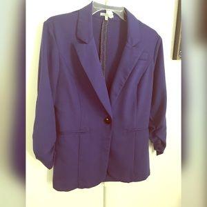Purple Bow Blazer