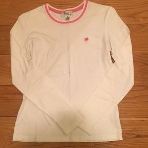 Lilly Pulitzer white long sleeve
