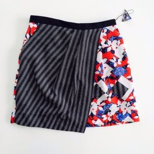 Peter Pilotto for Target Dual Print Wrap Skirt