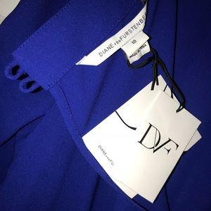 3463e539c16 Diane Von Furstenberg Other - DVF NWT  Cynthia  Jumpsuit Cosmic Cobalt Sz10
