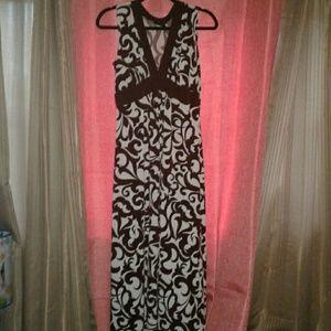 Carole Little Maxi Dress Size 6