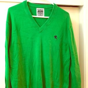 X-Large express green sweater