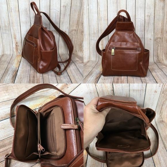 b6367f352d Aurielle Handbags - Leather Aurielle mini backpack purse