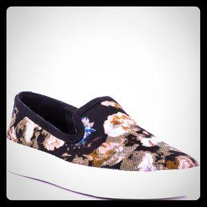 Sam Edelman 'Becker' Floral Slip On Sneakers