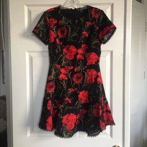 Lulu's Dresses - Lulus floral dress