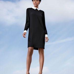 Victoria Beckham for Target Black 🐇 Collar Dress