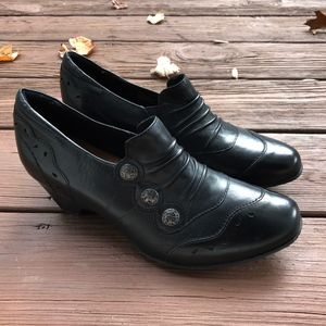 Rockport Cobb Hill Black Leather Shoes 8W
