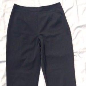 Liz Claiborne side zip high waist ankle pants
