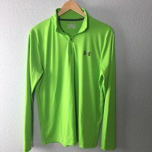 Under Armour 1/4 zip long sleeve heatgear shirt