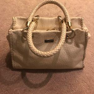 Henri Bendel leather handbag