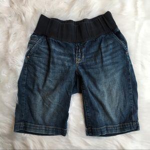 GAP Maternity Long Bermuda Jean Shorts- 26/2
