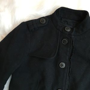 GAP 6 Wool Utility Style Jacket Pea Coat