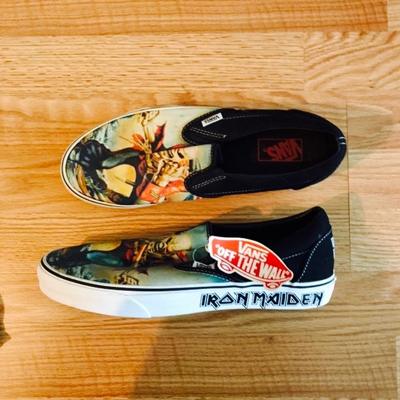 eb4879c1e4b Vans Iron Maiden limited edition