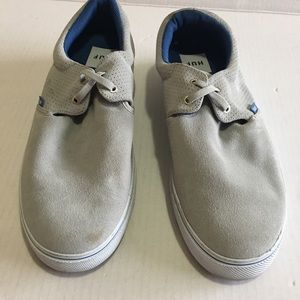 HUF Men's Gray Leather Sneakers size 11