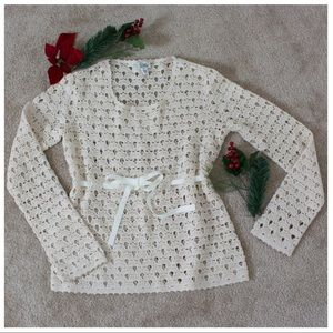 Lilly Pulitzer Crochet Sweater